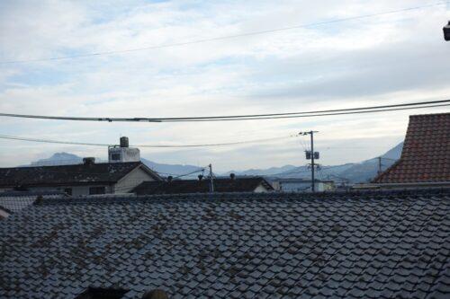 嬉野温泉の朝