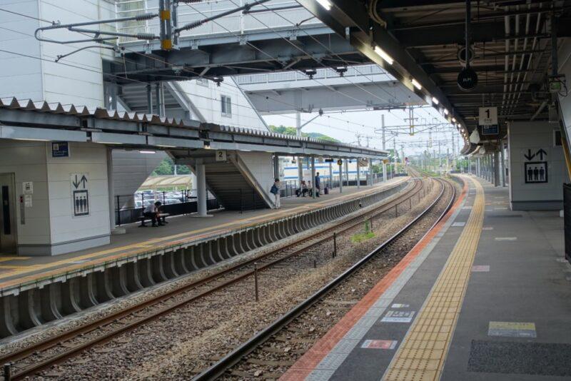 新鳥栖駅ホーム