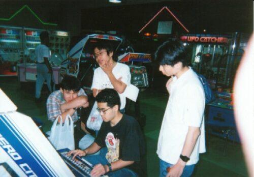 1993年、アワレみ隊一同