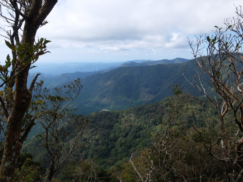 万二郎岳からの景色