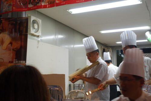 刀削麺調理師