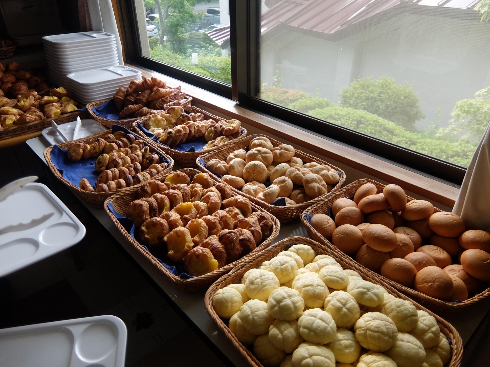パンシオンの朝食