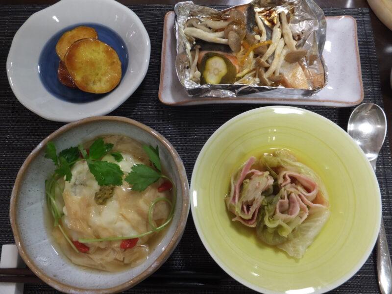 4品の料理