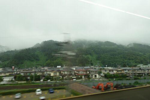 長野界隈は雨