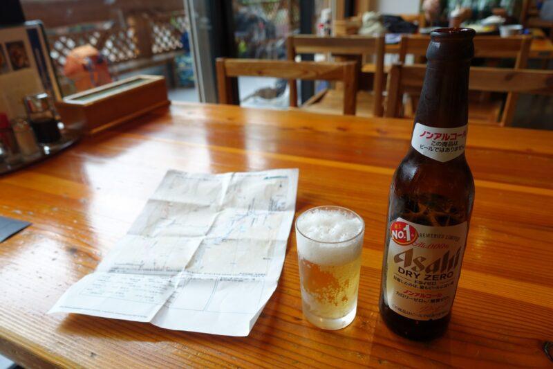 ノンアルコールビールを頼む