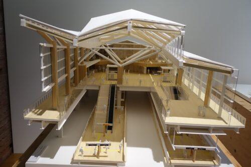 品川新駅模型