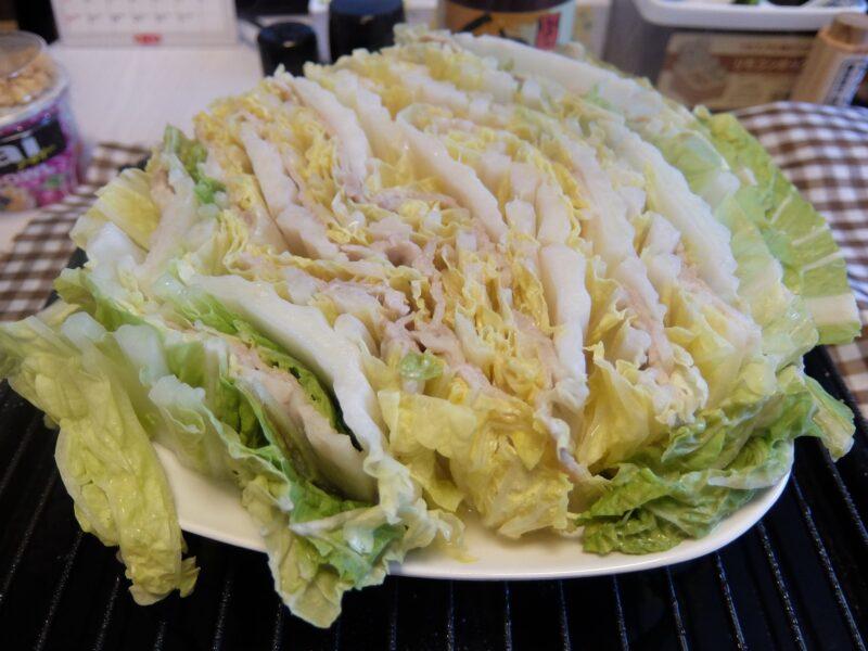 白菜と豚のミルフィーユ