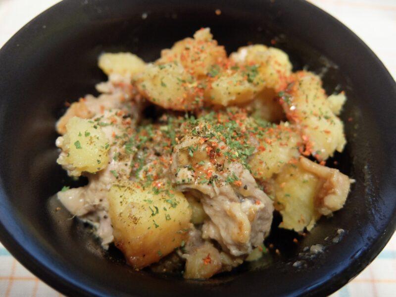 さつま芋と豚肉の甘辛煮