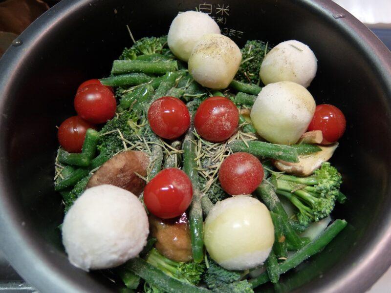 たっぷり野菜のローストチキン