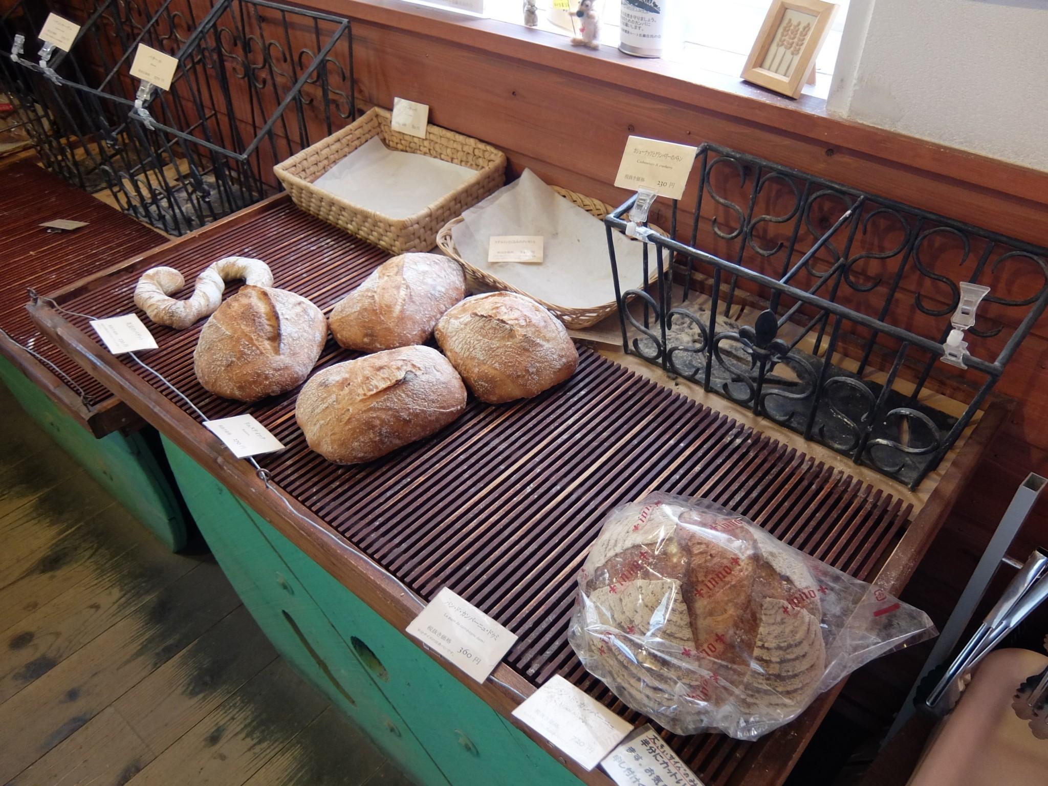 バックハウスインノのパン