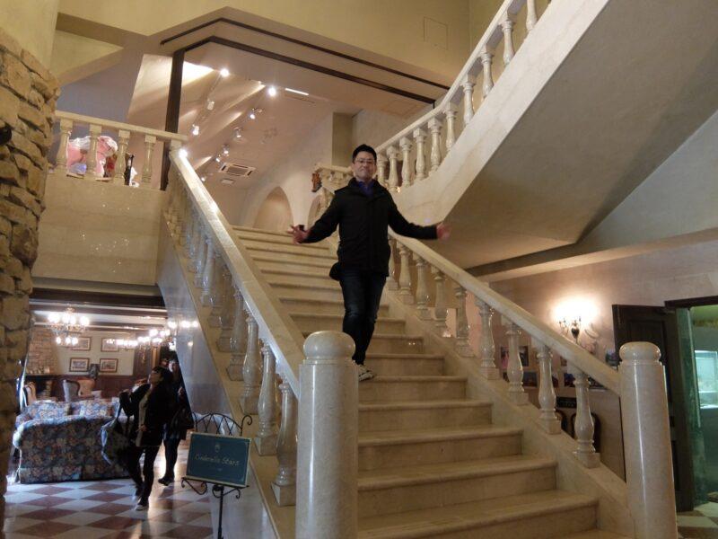 城の大階段