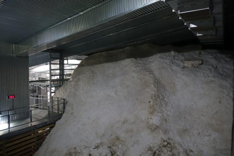 雪中貯蔵庫体感ツアー