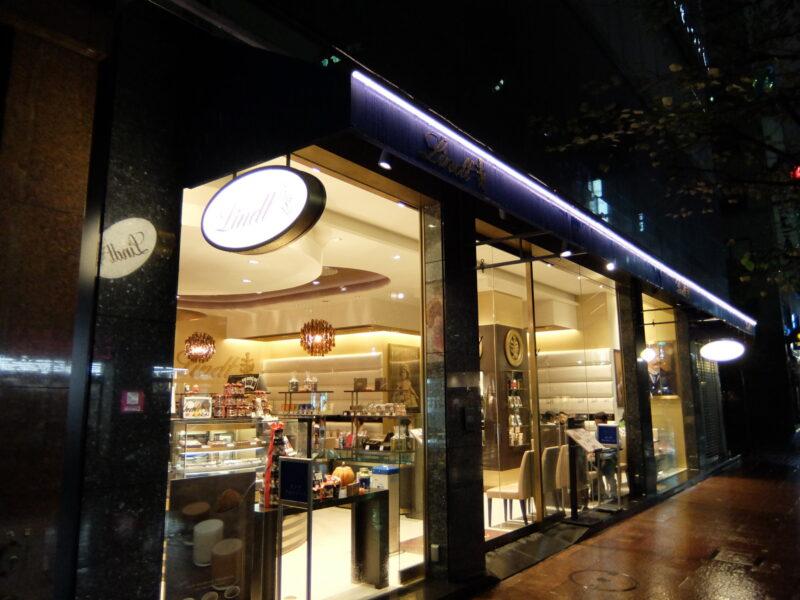リンツショコラカフェ銀座店