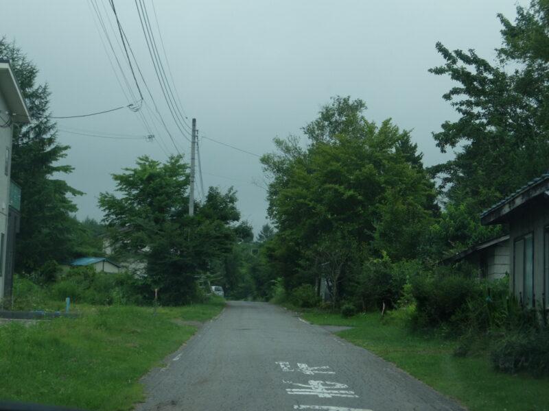 嬬恋の別荘地