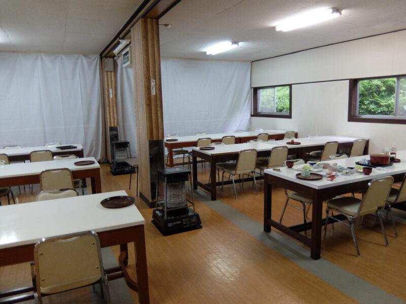 鹿澤館食堂