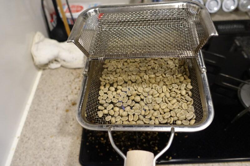 珈琲豆焙煎