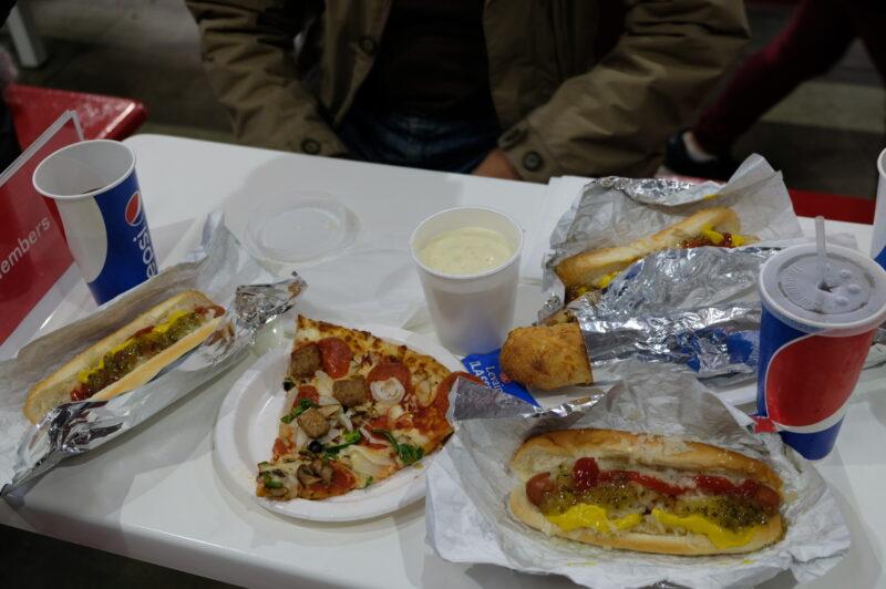 大人3人の昼食