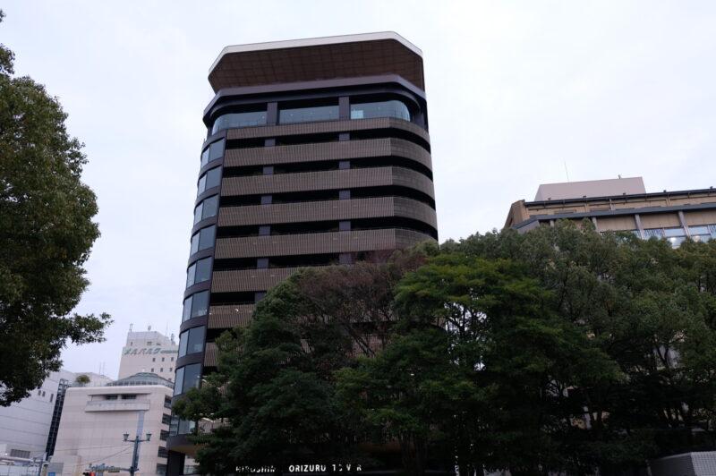 折り鶴タワー遠景