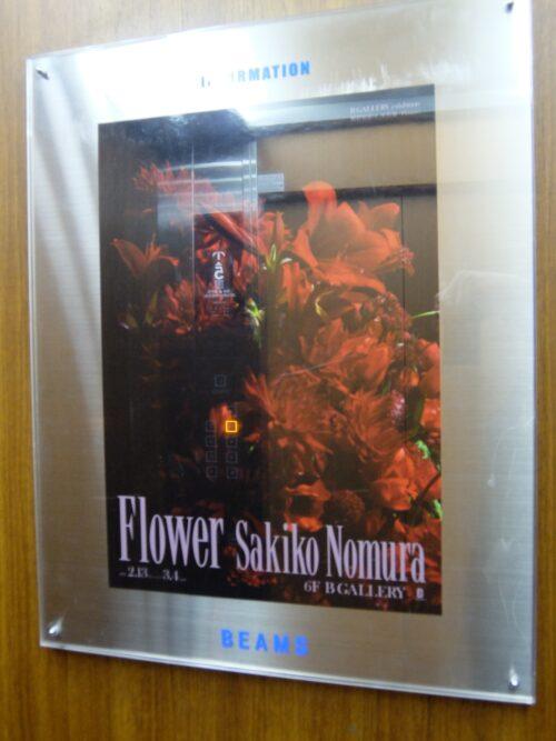野村佐紀子 写真展 Flower