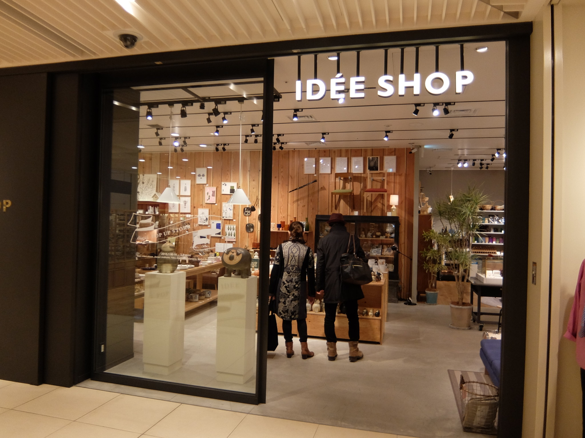 dieci POP UP STORE in IDÉE