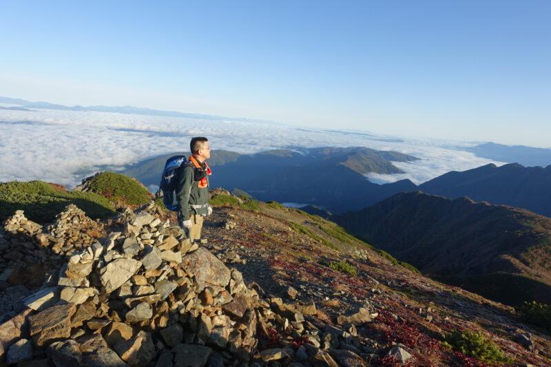 仙丈ヶ岳を歩く