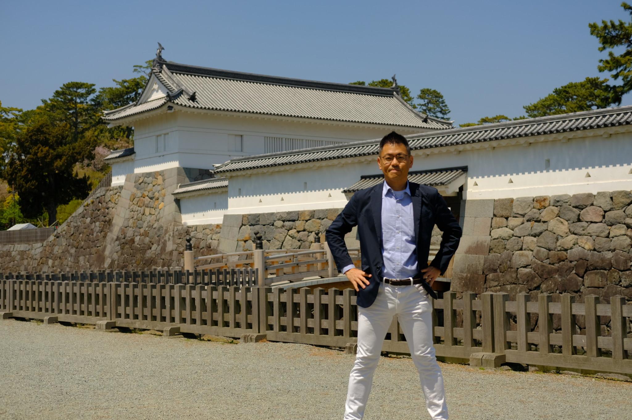 小田原城とおかでん
