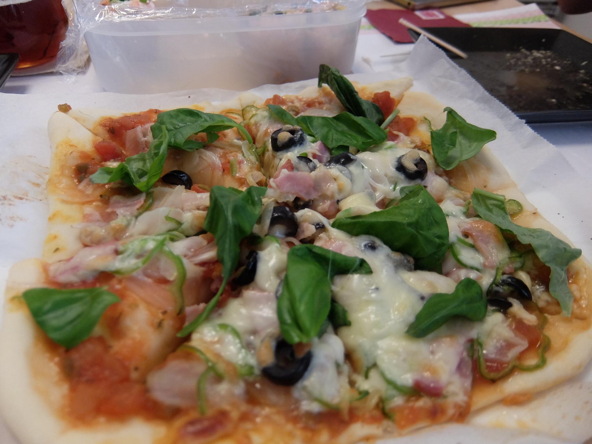 水浸しピザ