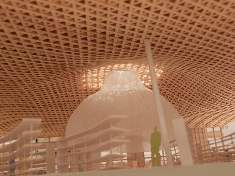 伊東豊雄展「空気をデザインする-みんなの森 ぎふメディアコスモス-」