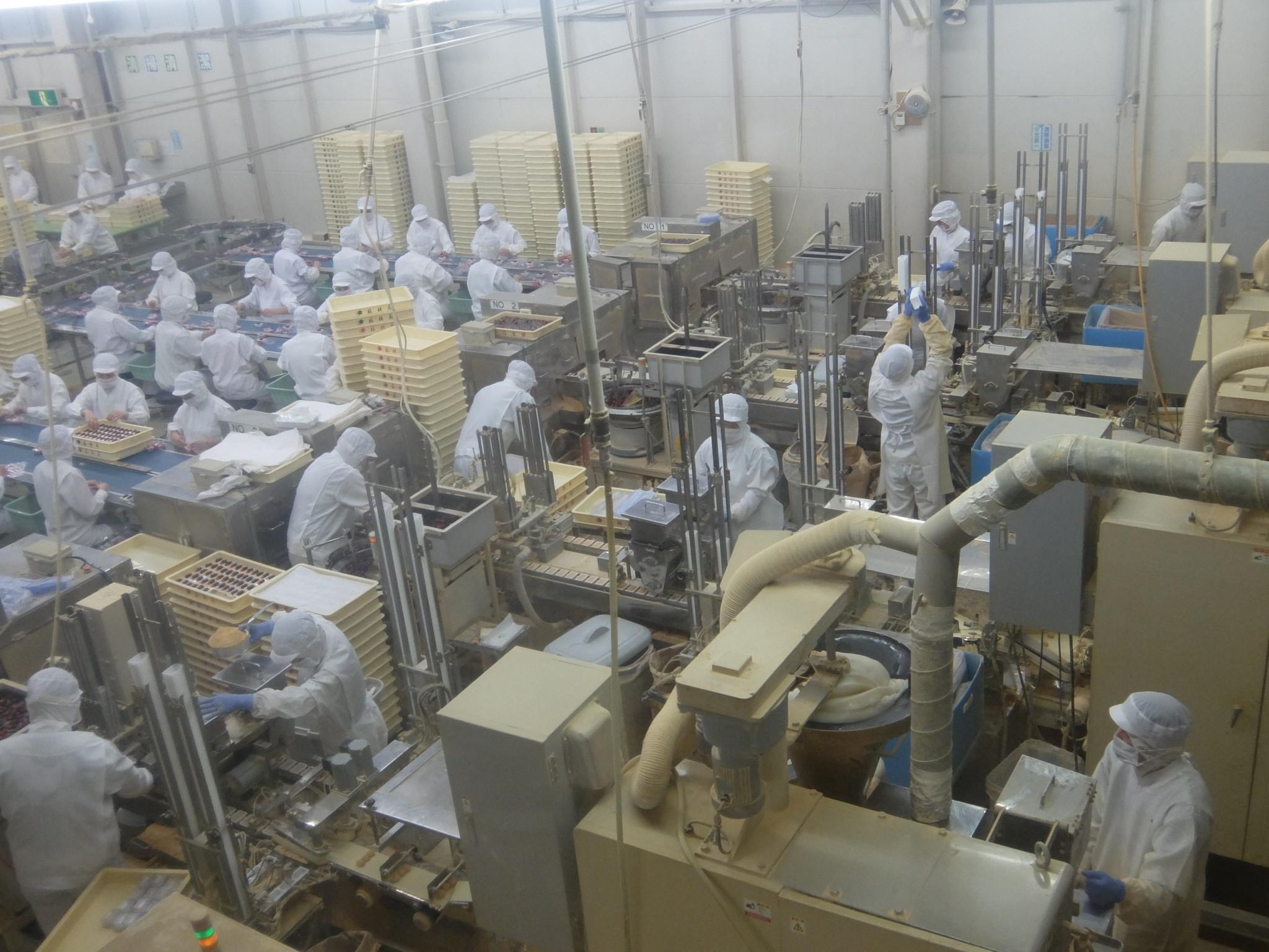桔梗信玄餅本社工場