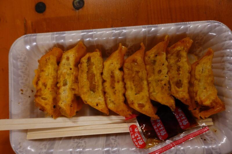 餃子8粒(大辛)