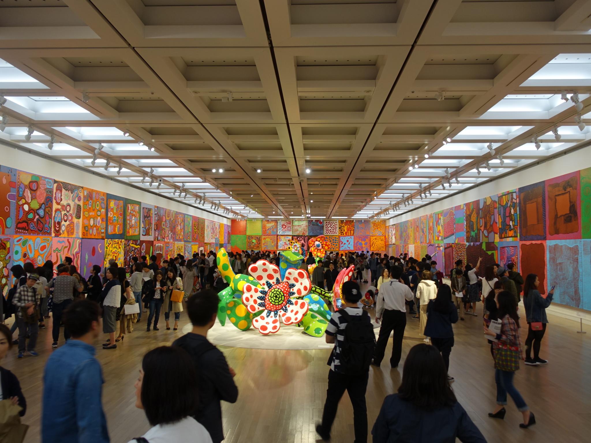 国立新美術館開館10周年 草間彌生 わが永遠の魂