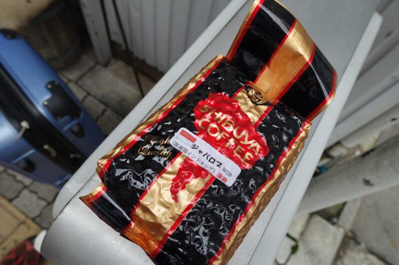渋谷コーヒーの豆