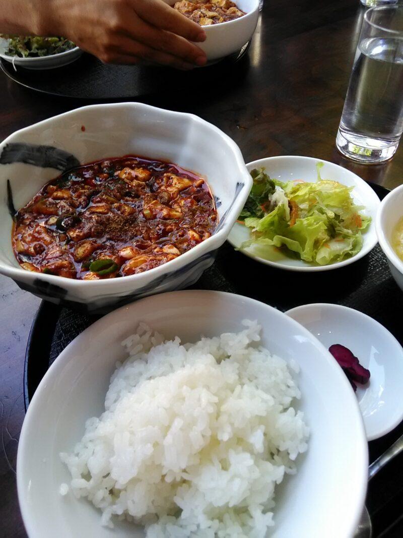 高級花椒を使った麻婆豆腐