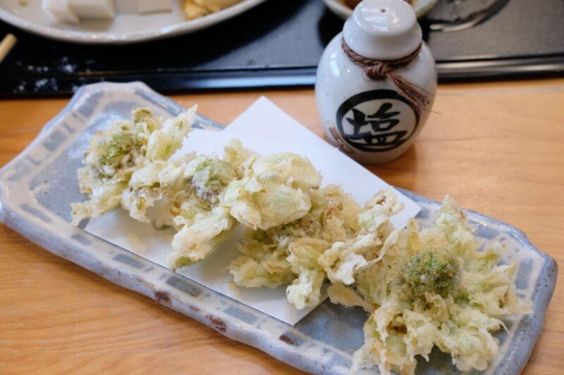 ふきのとう天ぷら