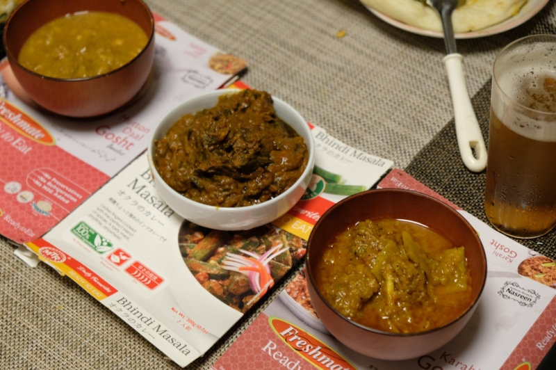 インドカレー食べ比べ
