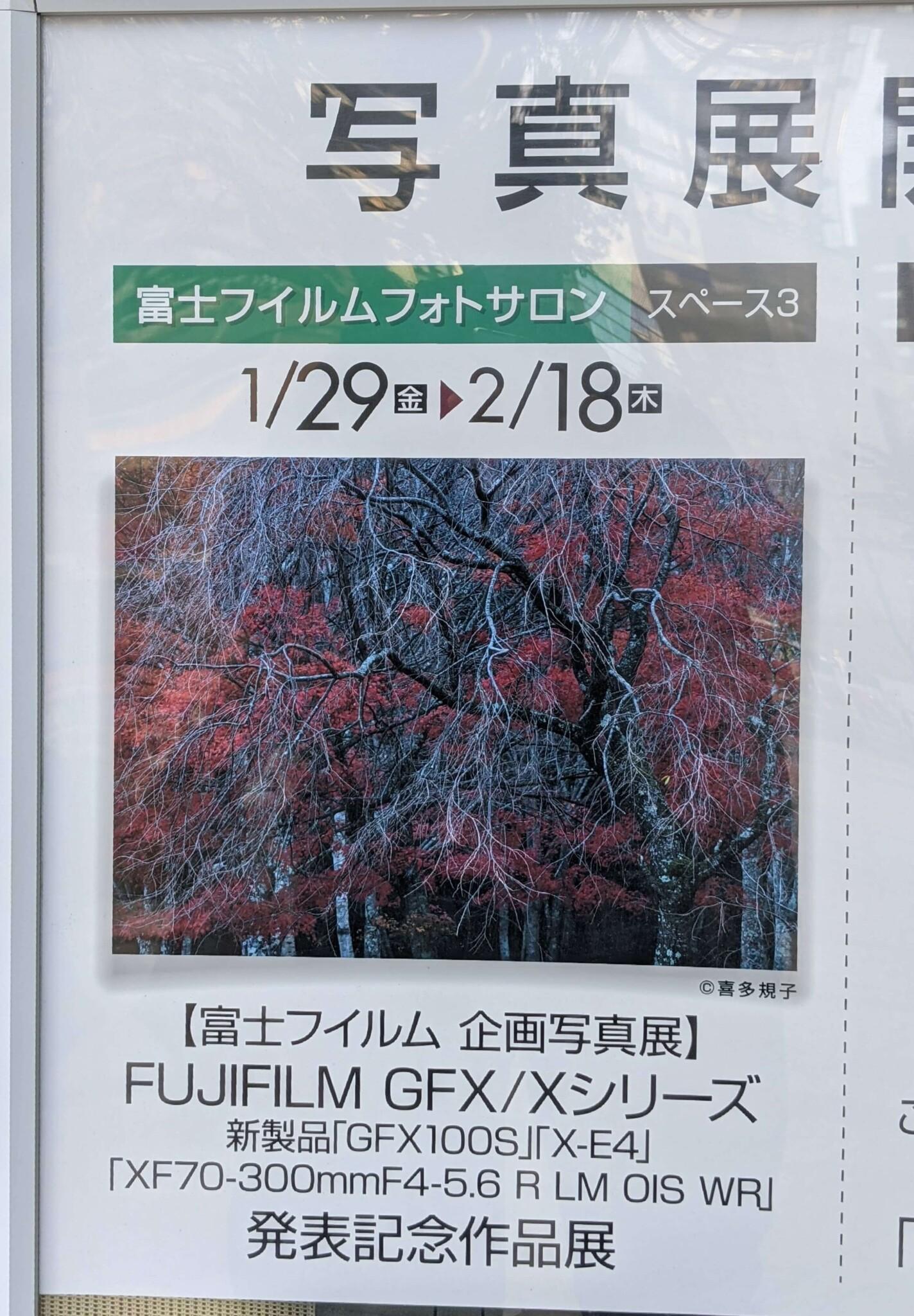 FUJIFILM GFX/Xシリーズ 新製品「GFX100S」「X-E4」「XF70-300mmF4-5.6 R LM OIS WR」 発表記念作品展